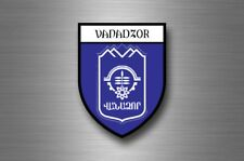 Sticker decal souvenir car coat arms shield city travel armenia Vanadzor