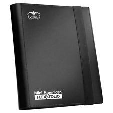 Ultimate Guard Mini American 9 Pocket FlexXfolio Black Folder