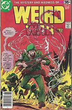 Weird War Tales #64 & #68  Bronze Age  1st & 2nd DC Frank Miller  1978
