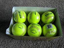 "(12) Rawlings 11"" .44 Cor 375 Comp Official League Softballs Model Ywcs11"