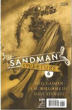 Sandman: Overture #6 Special Ink 1:200 Variant Edition by Dave McKean