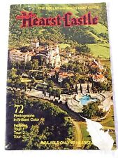 Vintage HEARST CASTLE TOUR BOOKLET w/ 72 COLOR PHOTOGRAPHS; Circa 1960's-70's