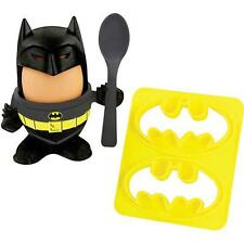 Batman - Egg Cup And Toast Stamp Cutter Set - New & Official DC Comics In Box