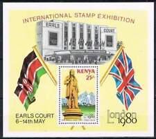 Kenya postfris 1980 MNH block 14 - Stamp Exhibition London (b01)