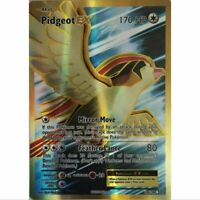 Pidegeot 104/108 EX Full Art Ultra Rare Poemon Holo Englisch Mint
