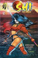 Shi The Series #12 July 1998 First Printing Crusade Comics