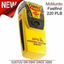 McMurdo Fastfind 220 PLB Localizador Personal Beacon | 406/121.5MHz | Para Barcos Marina