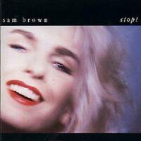 """SAM BROWN """"STOP"""" CD NEW!"""