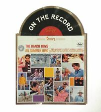 """2013 Panini Beach Boys Trading Cards """"On The Record"""" All Summer Long Album #7"""