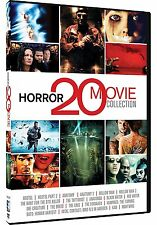 Horror 20 Movie Collection: Hostel + Anaconda + The Cave + More Box/DVD Set NEW!
