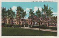 Postcard Talon Fastener Company Meadville PA Pennsylvania
