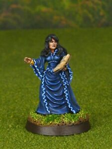 PRO PAINTED REAPER MINIATURES D&D DUNGEONS & DRAGONS KIMBERLEE FEMALE WIZARD