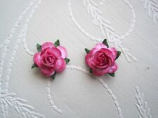Silver Plated Flowers & Plants Costume Earrings