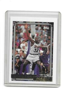 1992-93 TOPPS GOLD SHAQUILLE O'NEAL ROOKIE