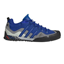 adidas Mens Terrex Swift Solo Walking Shoes Blue Sports Outdoors Breathable