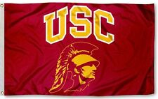 NEW Southern California USC Trojans NCAA 3x5 Official Polyester Flag Banner V3