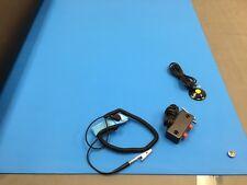 "2 LAYER RUBBER ANTI-STATIC ESD MAT kit -W/Dual Bench Ground/Wrist Strap-30""X48"""