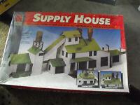 Vintage HO Scale Life-Like Supply House Building Kit Sealed 1398