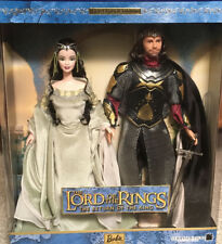 2003 Barbie & Ken: Lord Of The Rings Queen Arwen And King Aragorn Gift Set