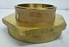 New Dixon Fire Hose Adapter Hex Fitting Material Brass X Brass Fm45f40t