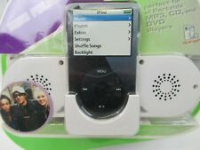CYBER GEAR MINI FOLDABLE SPEAKERS WITH CRADLE FOR IPOD