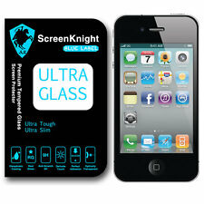 Screenknight Apple iPhone 4 / 4S Premium in vetro temperato Screen Protector