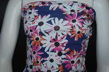 Cotton Jersey Lycra  Print  Knit Fabric Very Soft  9 oz Daisy Flowers