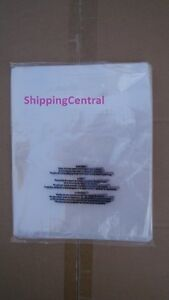 """CLEAR Suffocation Warning Flat Poly Bags 18"""" x 24"""" 1 MIL *25 50 100 250 500 1000"""