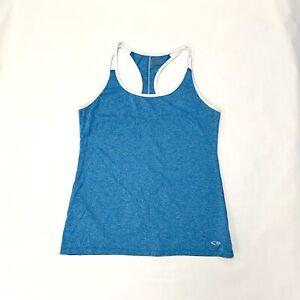 Women's CHAMPION Blue Active/Workout Tank Top Size S/P