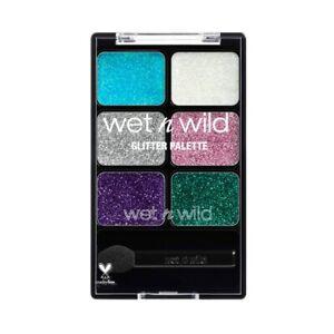 Wet N Wild Glitter Eye-Shadow Palette - 12914 Ethereal - Halloween Mermaid #7412