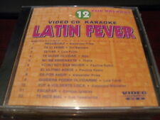 LATIN FEVER KARAOKE VIDEO CD VCDLF-012 VOLUME 12 POP BALADAS 12 TRACKS
