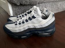 GENUINE MENS' Nike air max 95 size 9 UK / 110'S / GREY AND BLUE / LOVELY