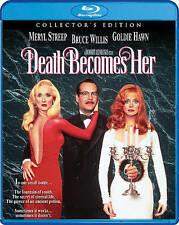 Death Becomes Her (Blu-ray Disc, 2016; Collector's Edition.) NEW w/ Slipcover