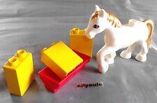 LEGO DUPLO Cavallo Fiabe cavallo bianco lucchetto da 10504 4821 4658 circo 6153