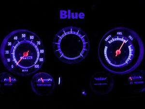 Gauge Cluster LED Dashboard Bulbs Blue For GMC 67 - 72 C15 C25 C35 K15 Truck