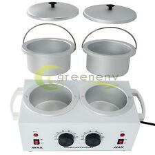 Pro DOUBLE Wax Warmer Electric Heater Dual Hot Facial Skin Care Equipment Spa