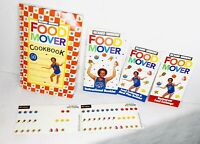 Richard Simmons Food Mover Cookbook Instructional Book Meal Plan Set Lot