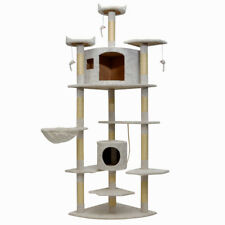 "Extra Large 82"" Cat Tree Pet House Kitty Cat Condo Furniture Club for Large Cats"