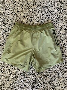 """Men's Ten Thousand 5"""" Session Shorts Size Small w/ Liner 5"""" - Green"""
