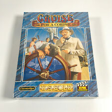 CRUISE FOR A CORPSE Game - Commodore Amiga - FACTORY SEALED / NEW OLD STOCK