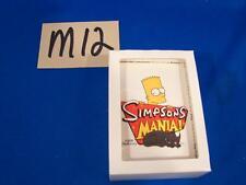 M12 THE SIMPSONS MANIA Inkworks/2002 Trading Cards MATT GROENING Art