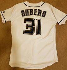 Rare Milwaukee Brewers Carlos Subero Game Worn Jersey MLB AUTHENTICATED size 46