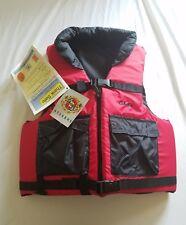 Cabela's Competitor Series Nylon Adult Medium Red Life Vest / Sport Vest Stearns