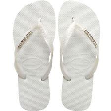 Sandali e scarpe slim in gomma bianca per il mare da donna