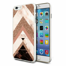 Personalised Marble Phone Case Cover for Apple Samsung Initial Text Name - 34