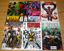 Wolverine: Agent of SHIELD #1-6 VF/NM complete story - mark millar 26-31 jrjr