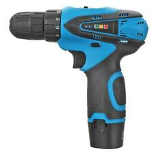 Rechargeable Lithium Electric Cordless Drill 12V Electric Screwdriver w/Lamp