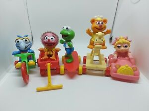 Muppets Mcdonalds Toys Happy Meal 80s Babies Full Set