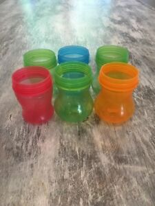 6 Munchkin Sippy Cup Replacement Bottoms  #362