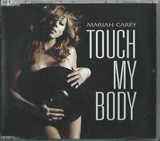 MARIAH CAREY - TOUCH MY BODY / REMIXES 2008 EU ENHANCED 3 TRACK CD SINGLE PART 2